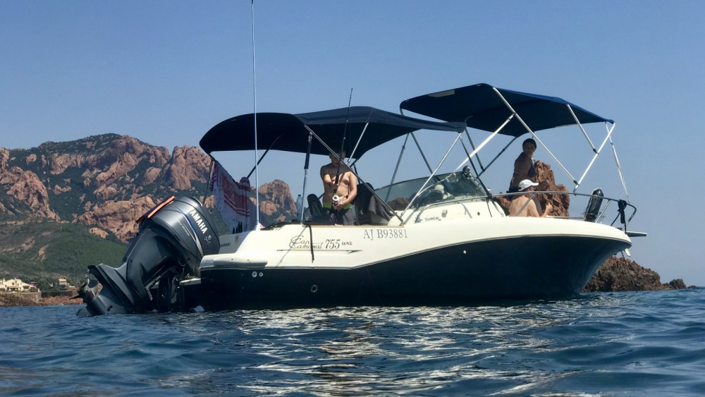 Rental Motor boat in Fréjus - Jeanneau Cap Camarat 755 WA