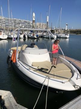 Location bateau Deauville pas cher Flyer 650 Open