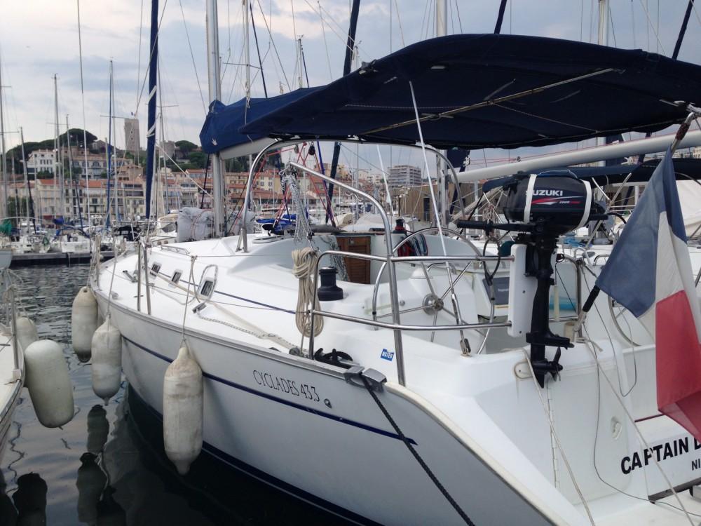 Location Voilier à Cannes - Bénéteau Cyclades 43.3