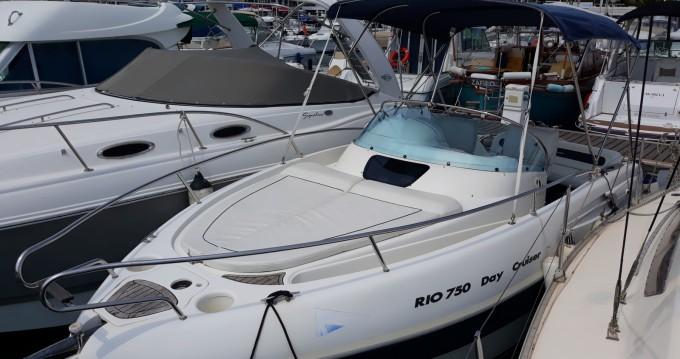 Location bateau Rio Rio 750 Day Cruiser à Mandelieu-la-Napoule sur Samboat