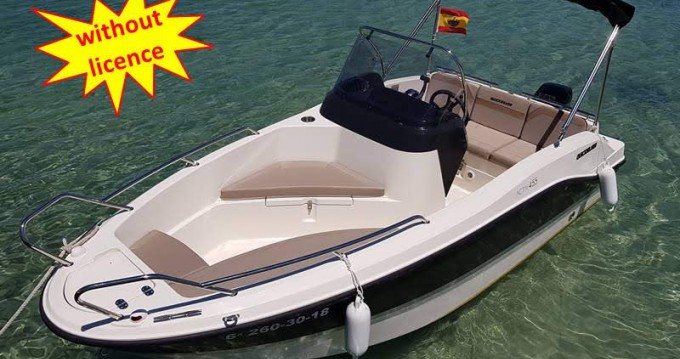 Alquiler de yate Palma - Quicksilver B455 'Theia' (without licence) en SamBoat