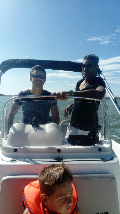 Boat rental Mauguio cheap Activ 555 Open