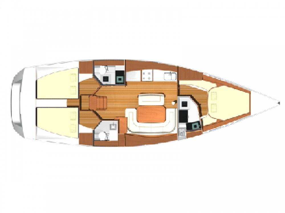 Location yacht à Cannigione - Dufour Dufour 425 sur SamBoat
