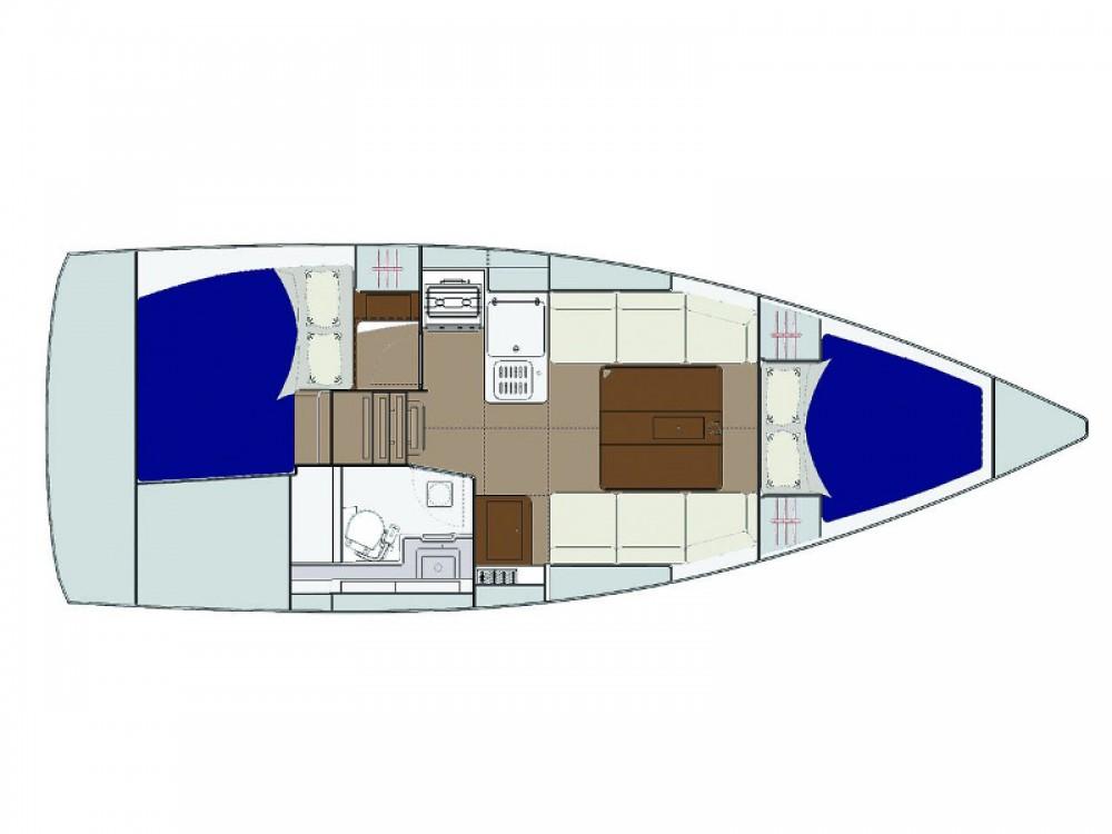 Boat rental Marina Baotić cheap Dufour 310 Grand Large