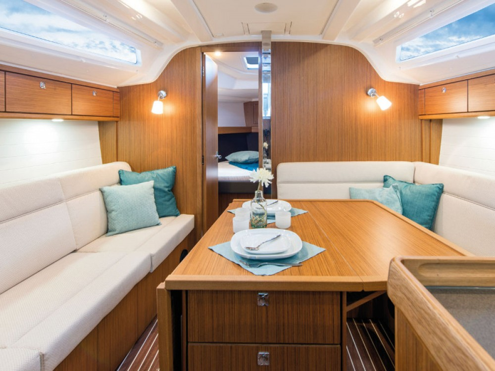 Bavaria Cruiser 37 between personal and professional Raslina