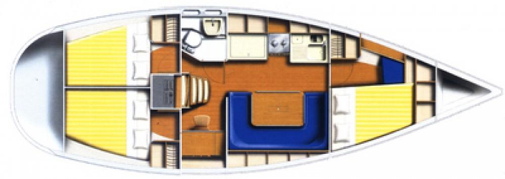 Louez un Poncin Yachts Harmony 38 à Raslina