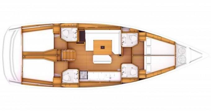 Louez un Jeanneau Sun Odyssey 469 à Marina Baotić