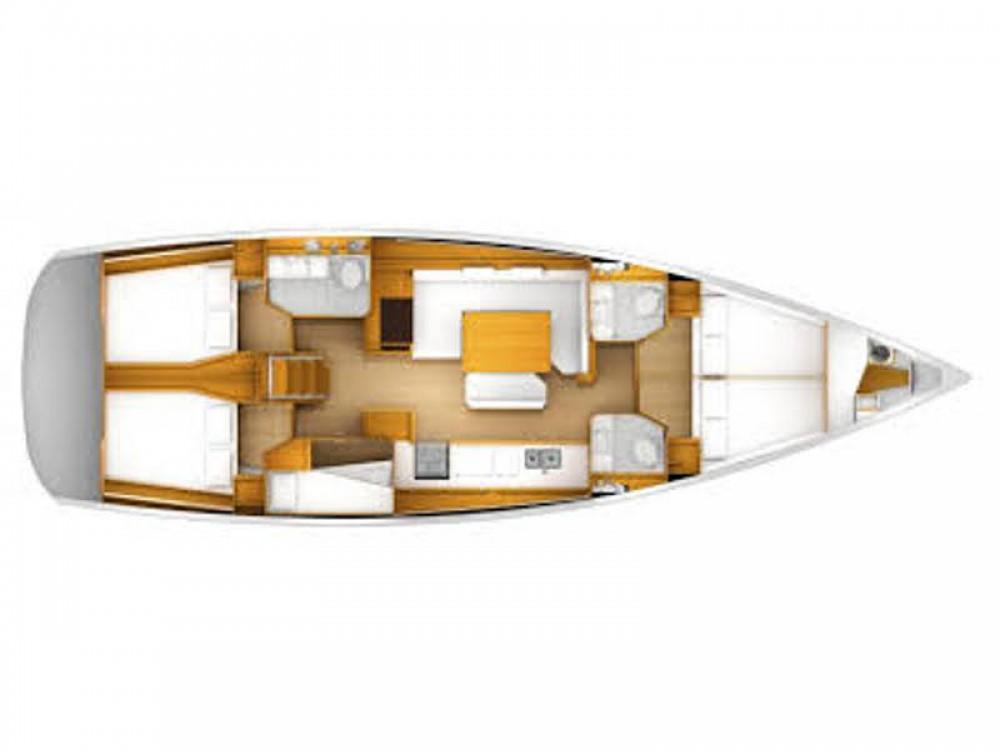 Location bateau Jeanneau Sun Odyssey 49i à Raslina sur Samboat