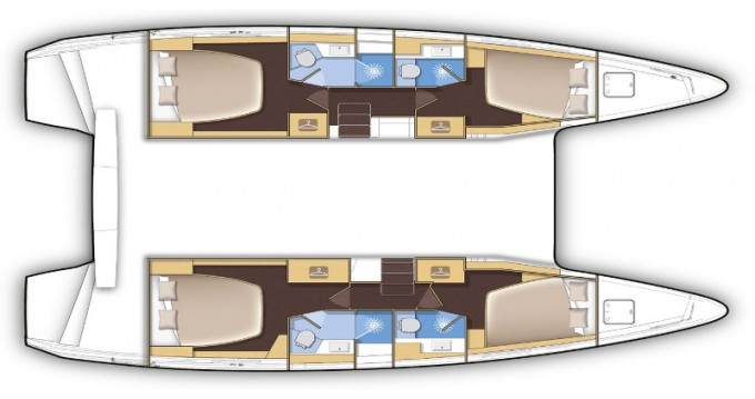 Location Catamaran à ACI Marina Dubrovnik - Lagoon Lagoon 42