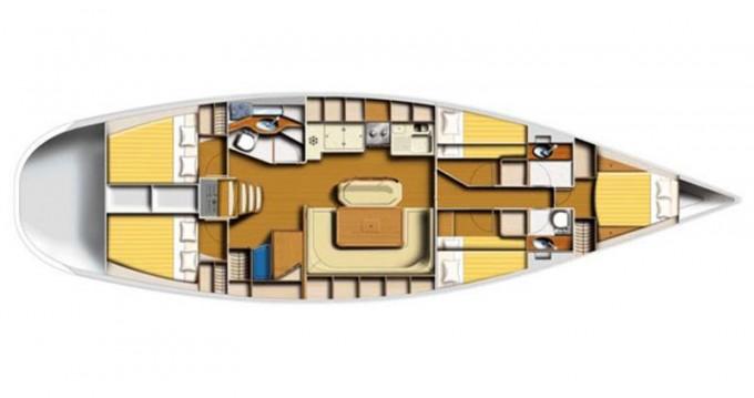 Louez un Poncin Yachts Harmony 52 à ACI Marina Dubrovnik