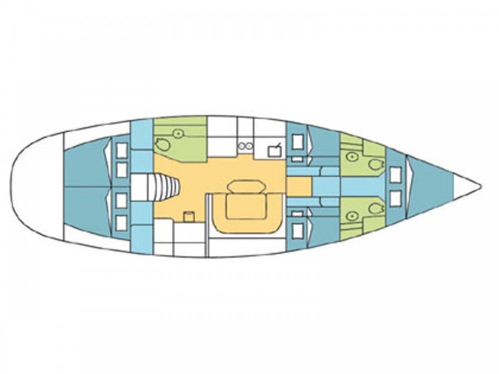 Rental yacht  - Poncin Harmony 52 on SamBoat