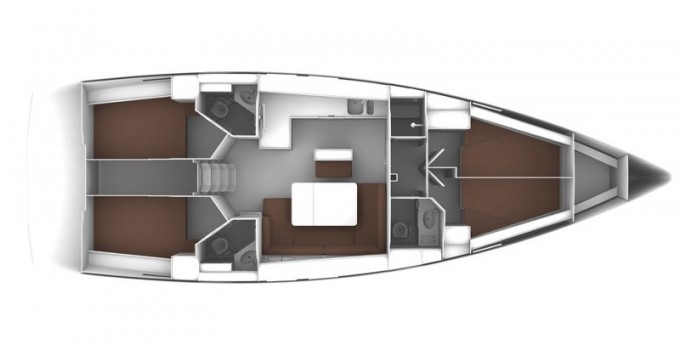 Location bateau Marina Baotić pas cher Cruiser 46