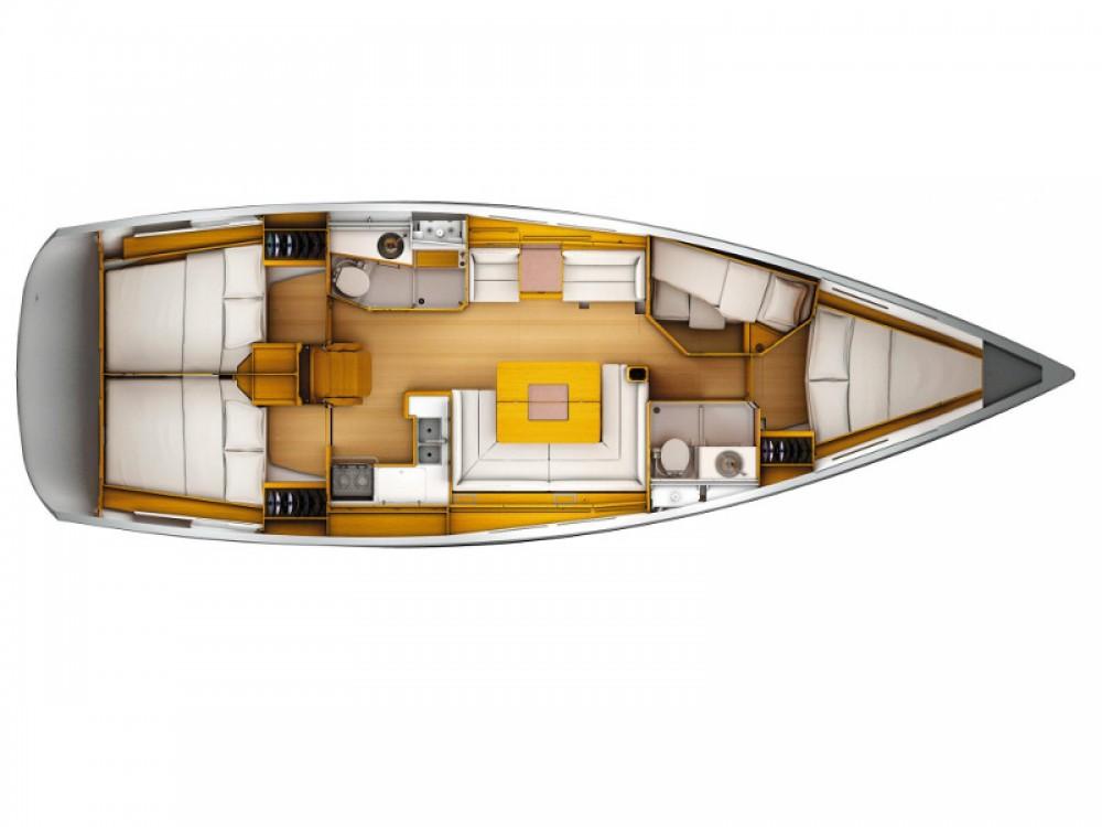 Location yacht à Marina Baotić - Jeanneau Sun Odyssey 449 sur SamBoat