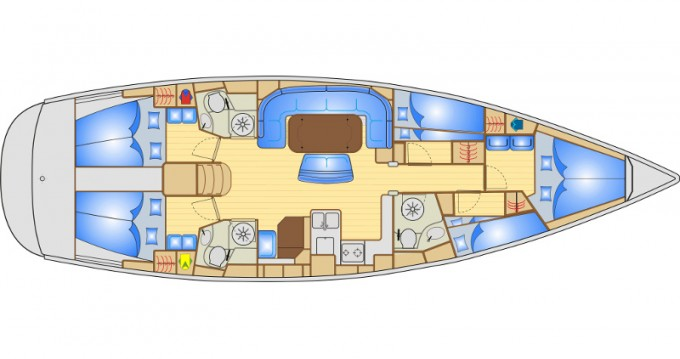 Location yacht à Marina Baotić - Bavaria Bavaria 50 sur SamBoat