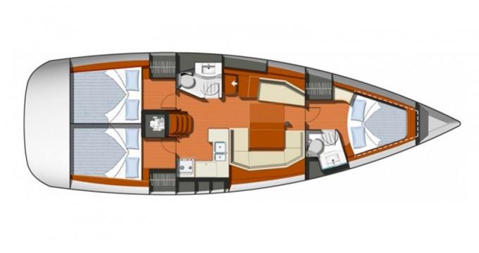 Location bateau Μαρίνα Αλίμου pas cher Sun Odyssey 42i
