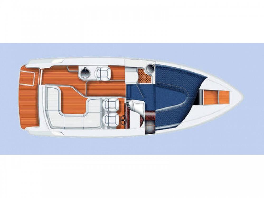Location yacht à Marina Pirovac -  Aquador 28 HT sur SamBoat