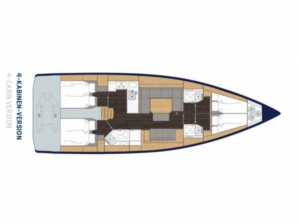 Louez un Bavaria C 45 à Marina Pirovac