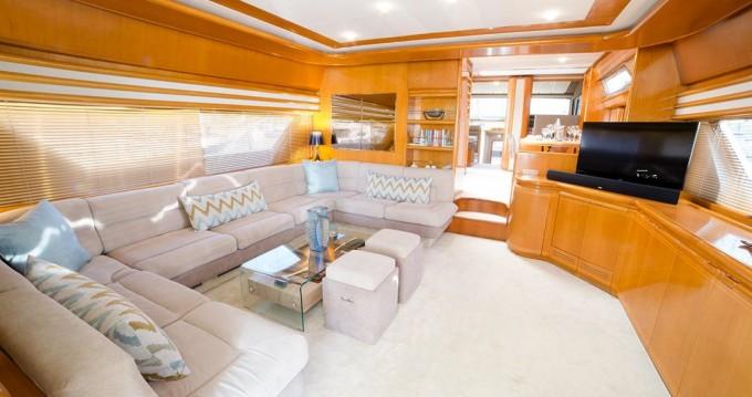 Location yacht à Μαρίνα Φλοίσβου - Ferretti Ferretti 75 sur SamBoat