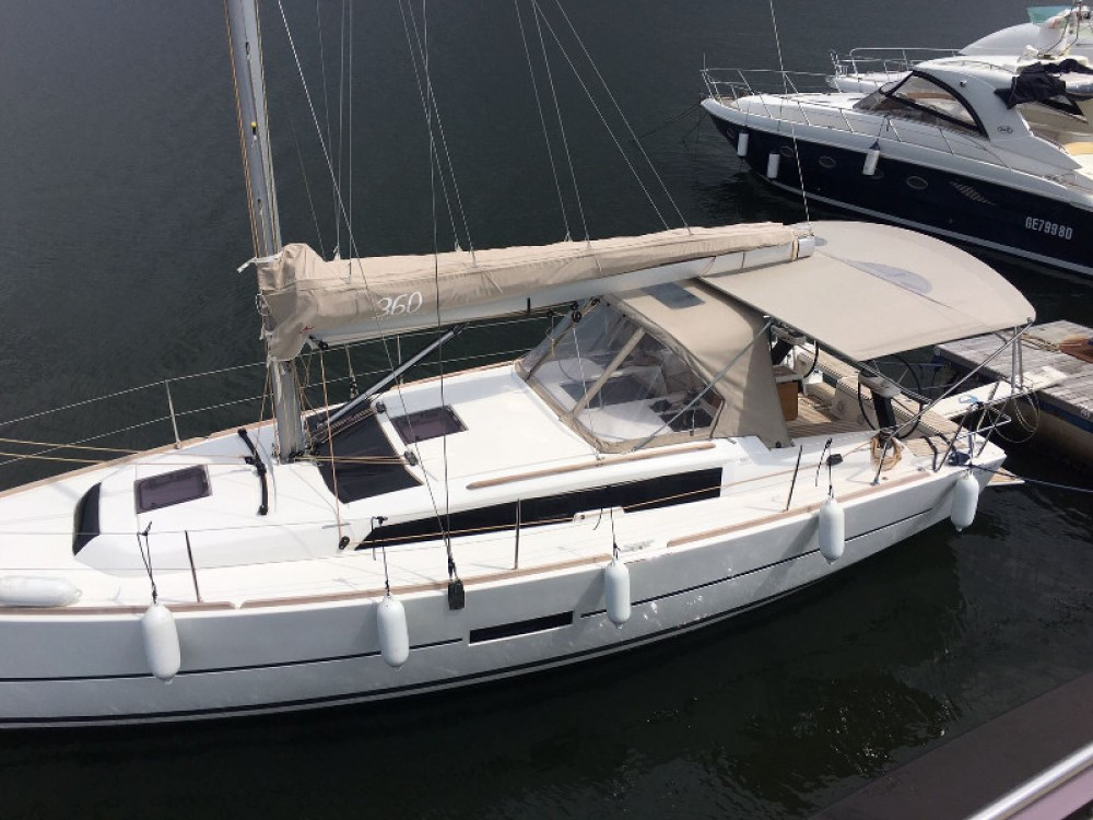 Noleggio barche Carloforte economico Dufour 360 Grand Large