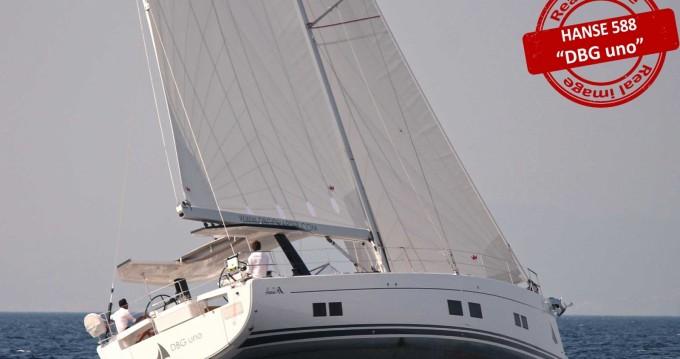 Location bateau Follonica pas cher Hanse 588