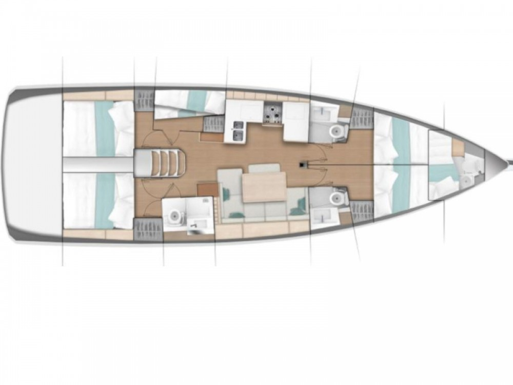Louez un Jeanneau Sun Odyssey 490 à Marina di Portisco