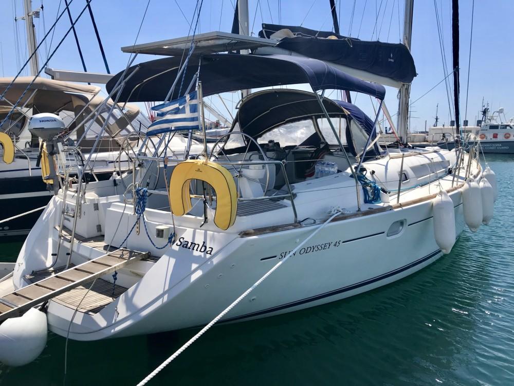 Location bateau Athènes pas cher Sun Odyssey 45