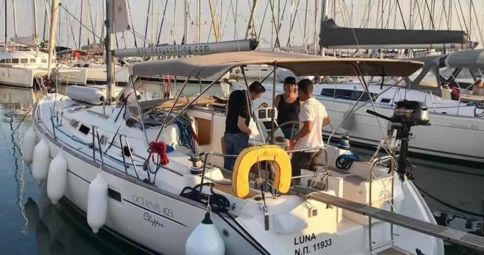 Location bateau Bénéteau Oceanis 423 à Laurion sur Samboat