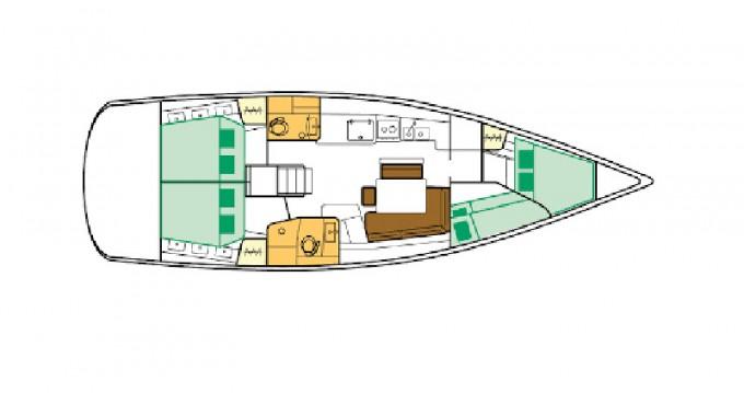 Location yacht à Μαρίνα Αλίμου - Bénéteau Oceanis 46 sur SamBoat