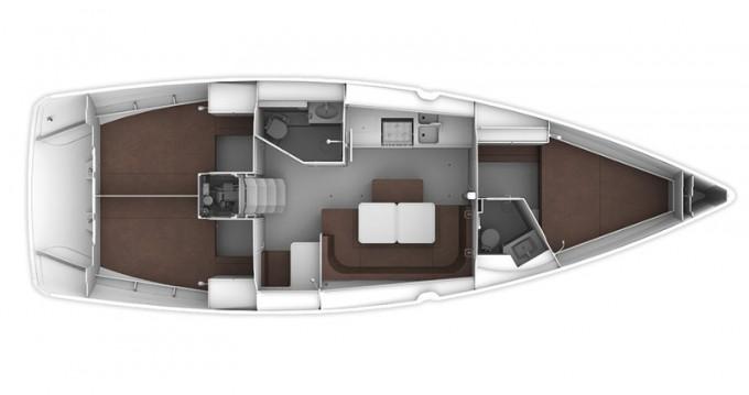 Location bateau Bavaria Cruiser 41 à Leucade sur Samboat
