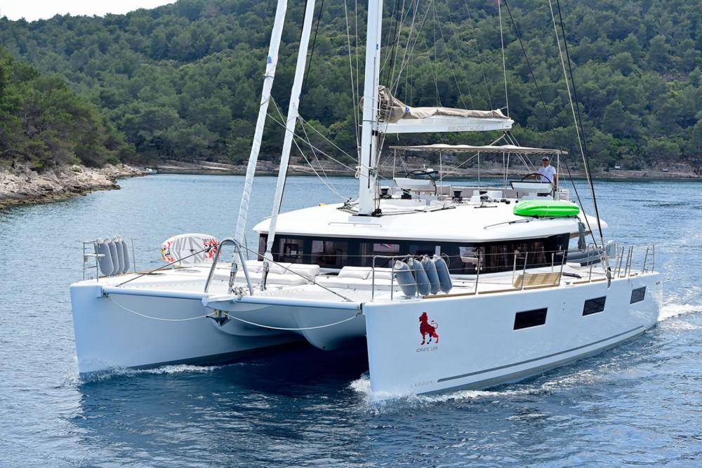 Rental yacht Marina Kaštela - Lagoon Lagoon 620 on SamBoat
