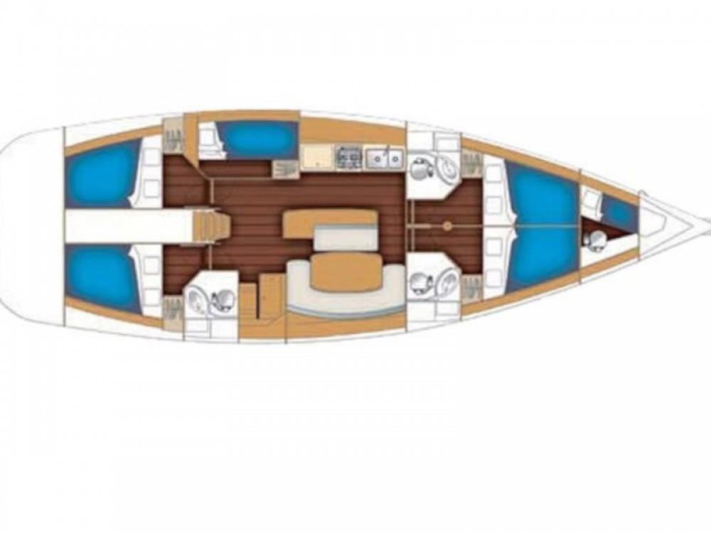 Verhuur Zeilboot in Sukošan - Bénéteau Oceanis 50 Family