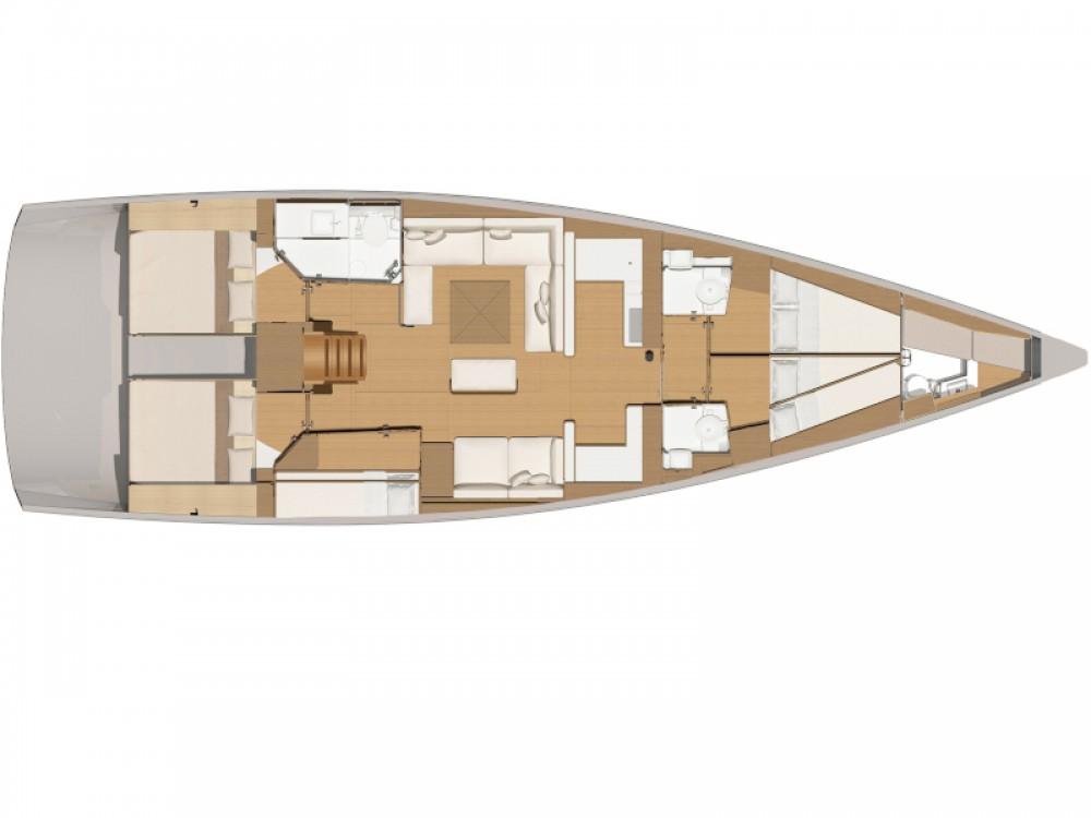Jachthuur in Marina Gouvia - Dufour Dufour 56 Exclusive via SamBoat