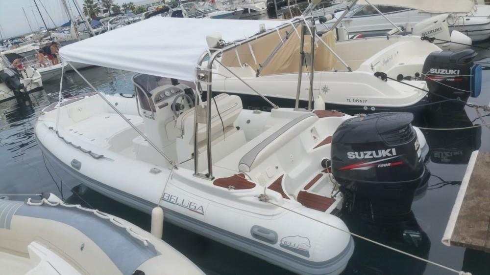 Louer Semi-rigide avec ou sans skipper Lomac à Cavalaire-sur-Mer