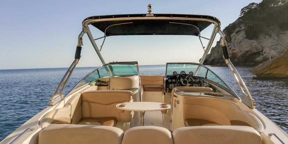Huur Motorboot met of zonder schipper Mastercraft in Santa Ponsa