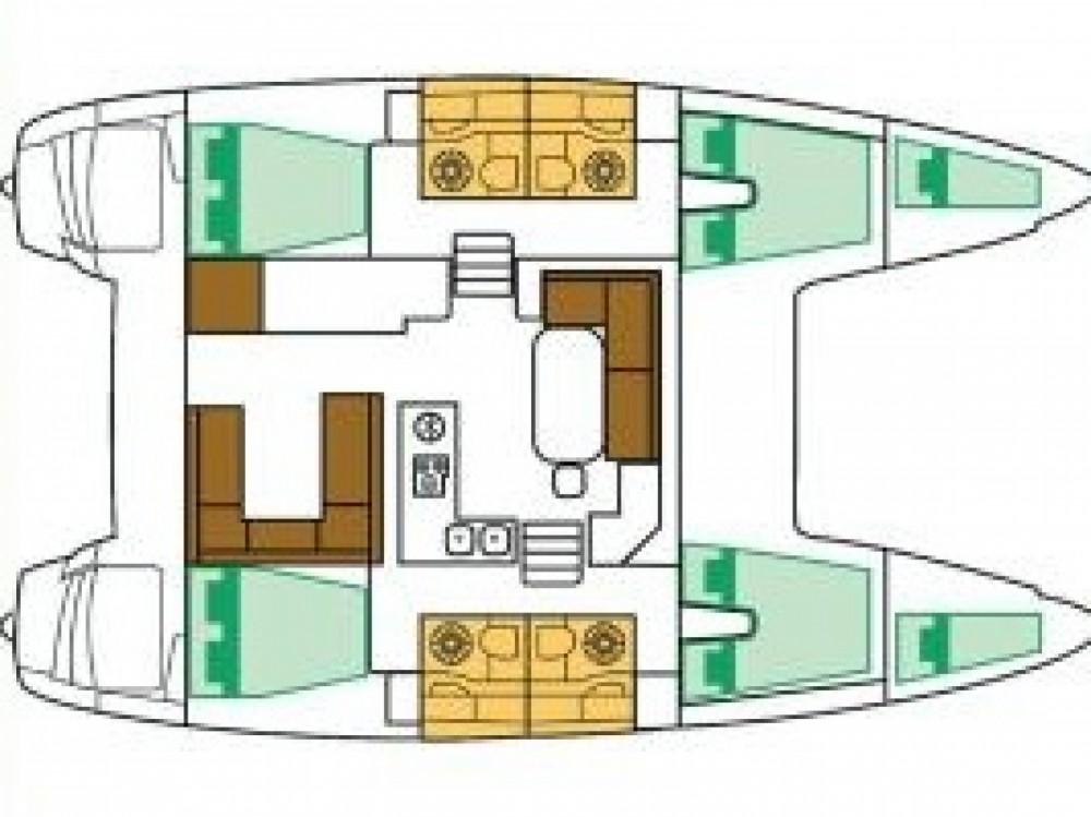 Catamaran te huur in ACI marina Pomer voor de beste prijs