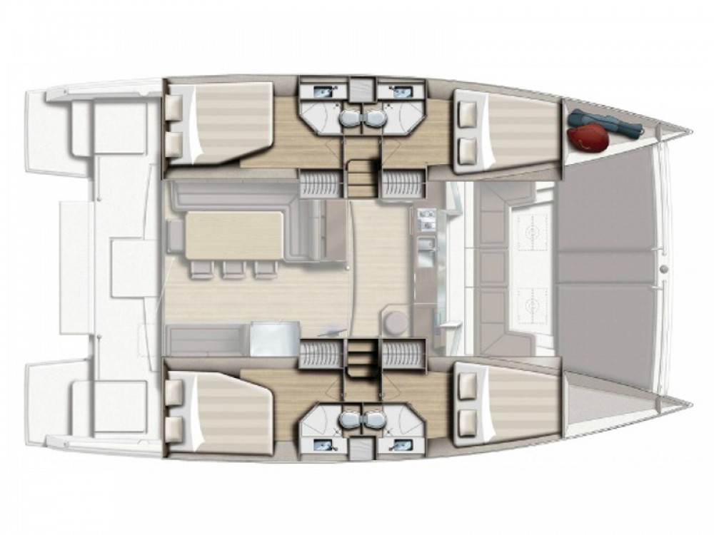 Bali Catamarans Bali 4.3 te huur van particulier of professional in Rogoznica