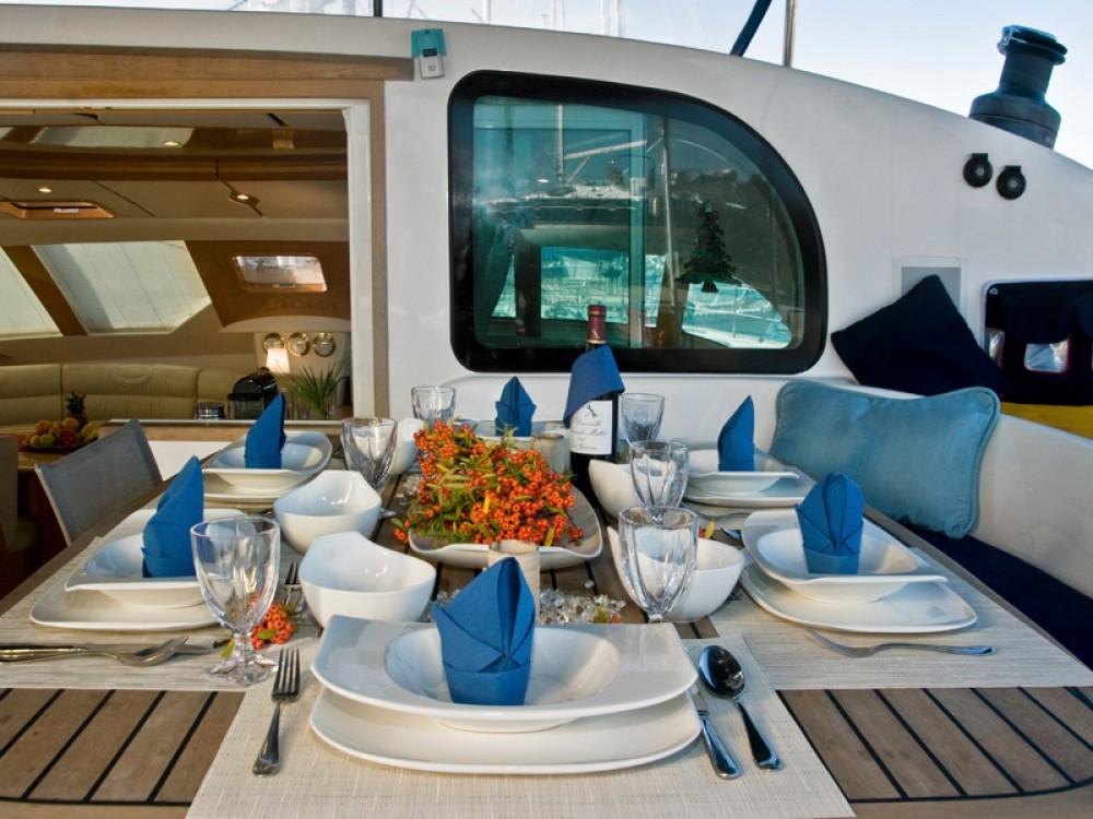 Verhuur Catamaran in Marina Gouvia - Alliaura Privilege 585