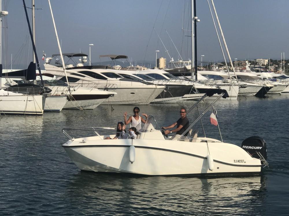 Bootsverleih Quicksilver Activ 605 Open Fréjus Samboat