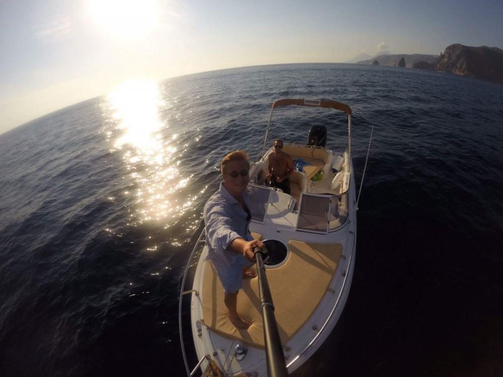 Ranieri Sea Lady 23 te huur van particulier of professional in Furnari