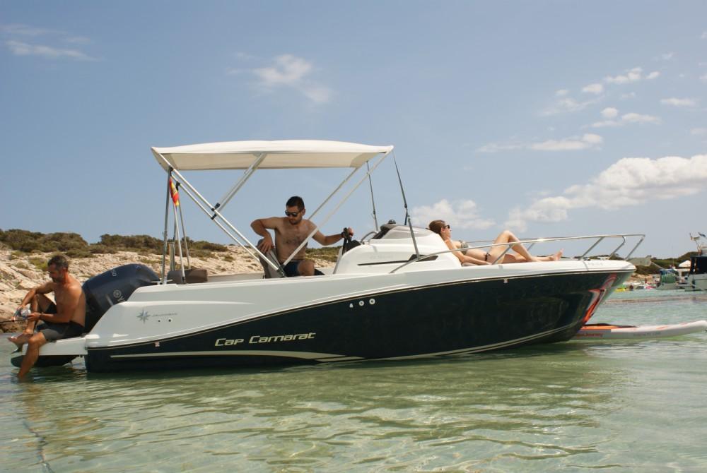 Motorboot te huur in Santa Eulària des Riu voor de beste prijs