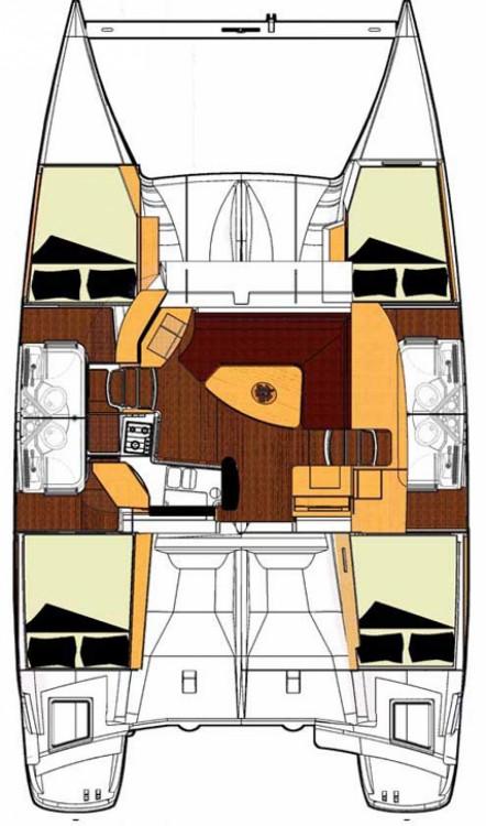 Huur Catamaran met of zonder schipper Fountaine Pajot in Marina Kornati