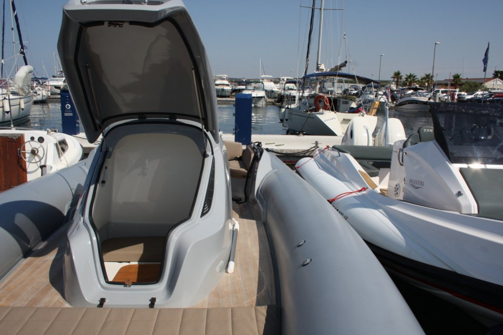 Verhuur Motorboot in Kroatië - Sacs Strider 10