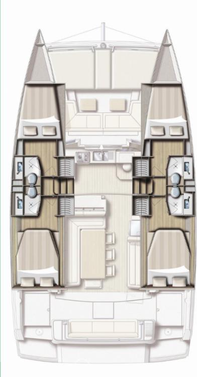 Catamaran te huur in Šibenik voor de beste prijs