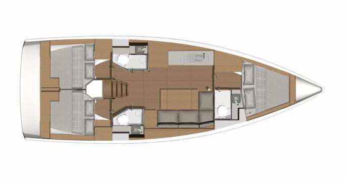 Location yacht à Marina Punat - Dufour Dufour 39 sur SamBoat