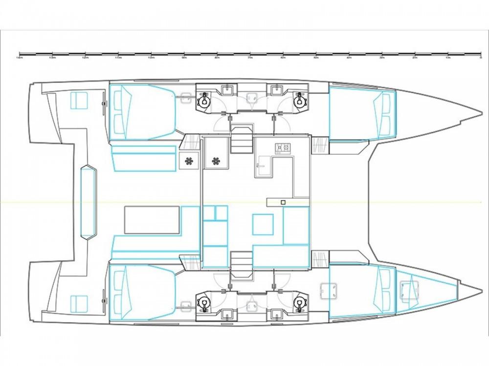Huur Catamaran met of zonder schipper Nautitech in Marina Gouvia