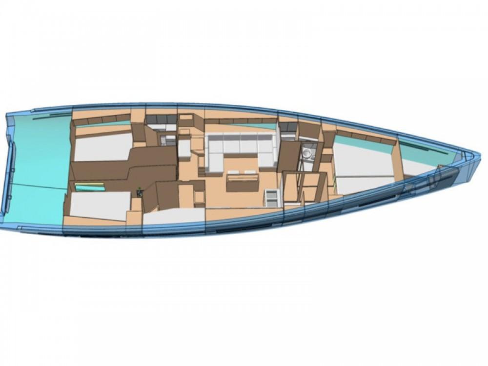 Bootverhuur More More 55 in Marina Kaštela via SamBoat
