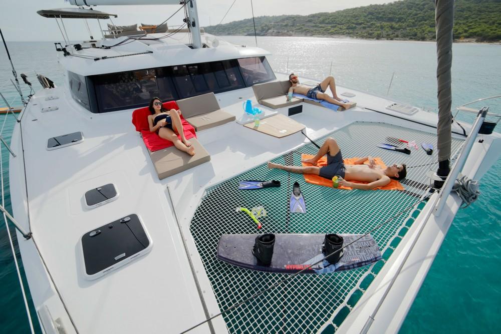 Huur Catamaran met of zonder schipper Fountaine Pajot in Olbia