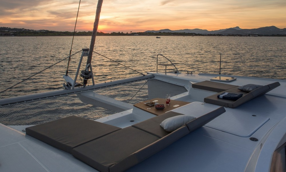 Fountaine Pajot Saba 50 te huur van particulier of professional in Olbia