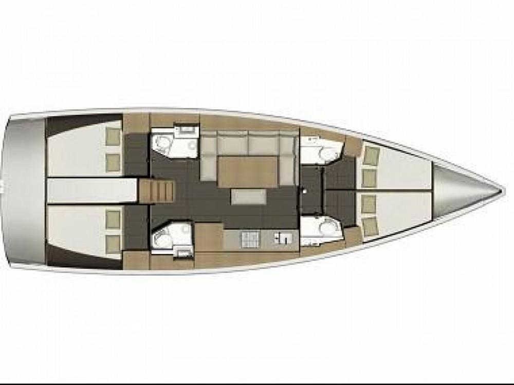 Verhuur Zeilboot in Furnari - Dufour Dufour 460 Grand Large