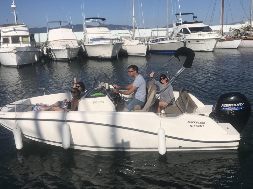Location yacht à Fréjus - Quicksilver Activ 605 Open sur SamBoat